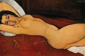 'Reclining Nude' (oil on canvas, 1917) - The Metropolitan Museum of Art, NY