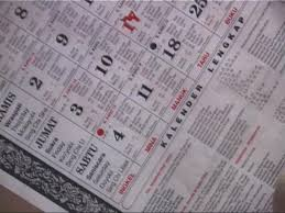 kalendar bali
