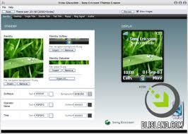 Themes Creator Sony Ericsson v 4.12