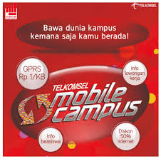 Telkomsel Mobile Kampus | Murah