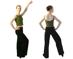 baggy dance trousers