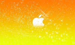 glitter apple