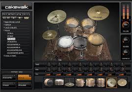 cakewalk drums