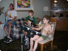kids rock bands