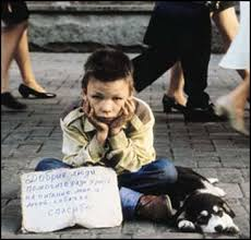 images of homeless children