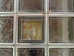 clear glass bricks