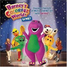 barney colorful world live