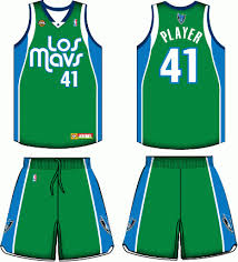 dallas mavericks uniform