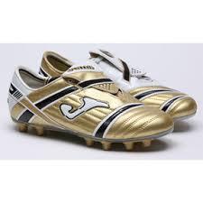 golden soccer cleats