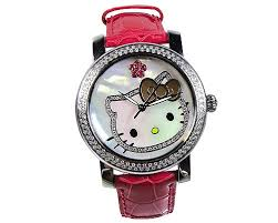 hello kitty diamond watches