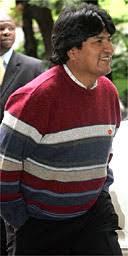 evo morales sweater