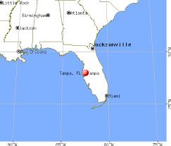 florida map tampa