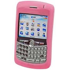 black berry curve pink