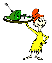 dr seuss green eggs and ham pictures