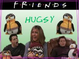 hugsy from friends