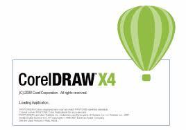 corel draw x4 logo