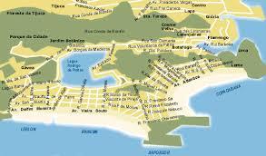 leblon mapa