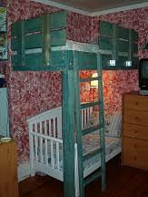 corner loft bed