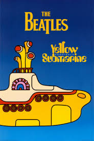 beatles yellow submarine poster