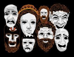 greek masks and costumes