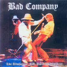 bad company live in albuquerque 1976
