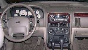 jeep cherokee dash
