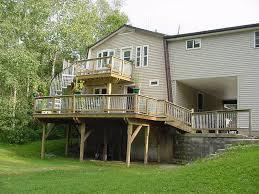 outdoor spiral stair