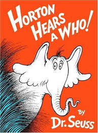 horton hears a who by dr seuss
