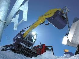bombardier snow groomer