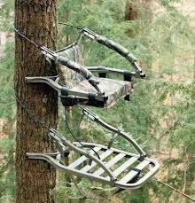lock on tree stand