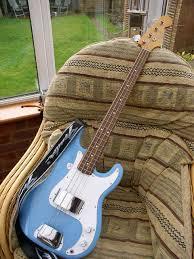 fender p bass japan