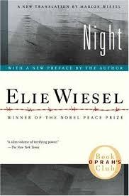 elie wiesel book night