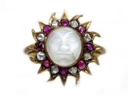 moon rings jewelry