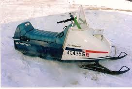 evinrude snowmobile