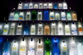 bottles liquor