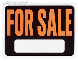 4 sale signs
