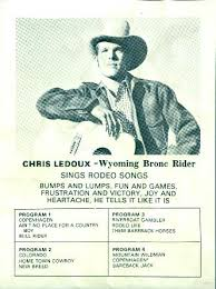 Chris Ledoux - National Finals Rodeo