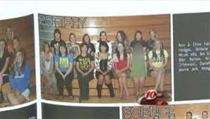 revealing photo makes high school yearbook