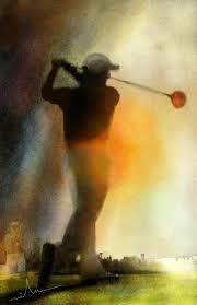 golf painter
