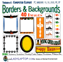 african borders clip art