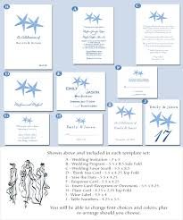 beach style wedding invitations