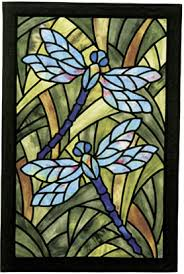 dragonfly stained glass patterns