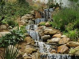 backyard waterfall design