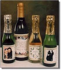 mini wine bottle