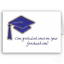 congratulations for your graduation
