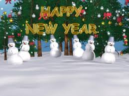 new year screensavers
