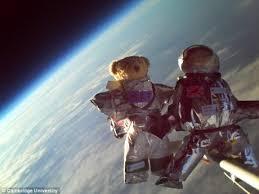 teddy bears in space