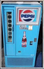 antique pepsi machine