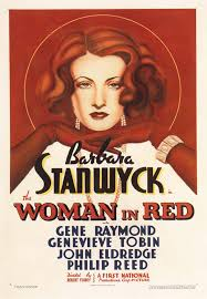 woman in red movie