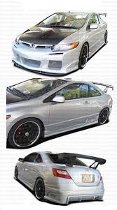 honda civic with body kits